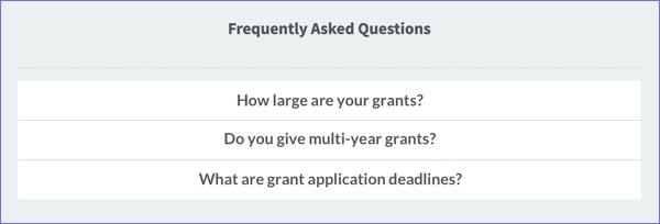 Grants-FAQ