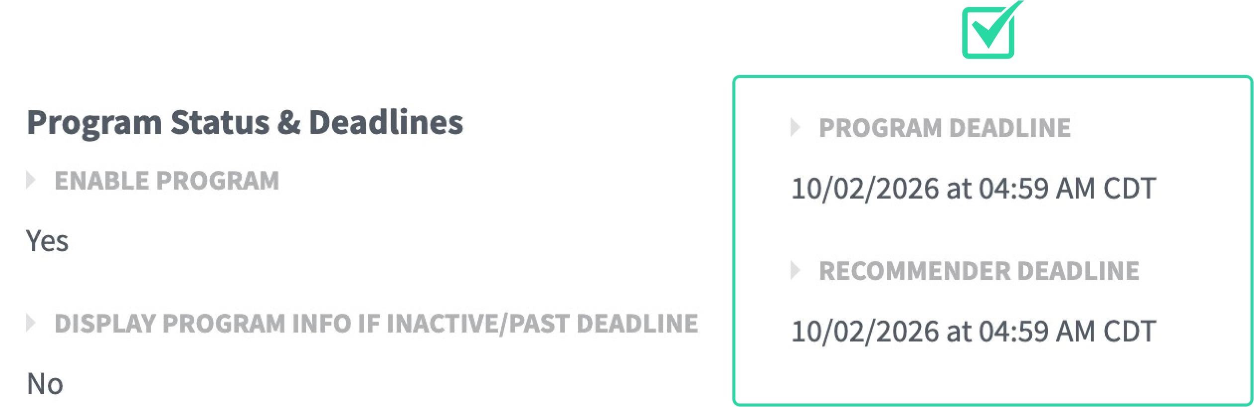 program-deadline